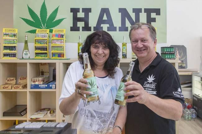 Erster Münchner Hanf-Shop öffnet