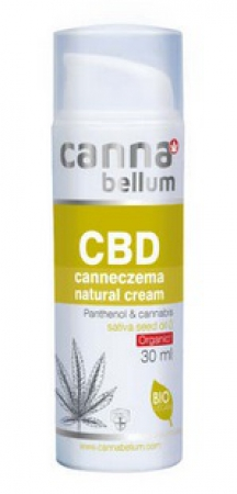 Cannabellum CBD BIO Canneczema Creme 30ml