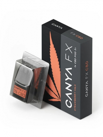 CBD Pod Canya FX Strawberry Milk