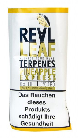 Real Leaf Tabakersatz Pineapple Express 20g