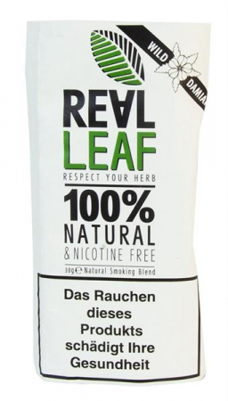 Real Leaf Tabakersatz Natural Wild Damiana 30g