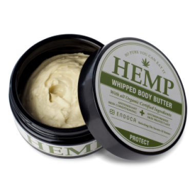 Hemp Whipped Body Butter (300mg CBD) Endoca