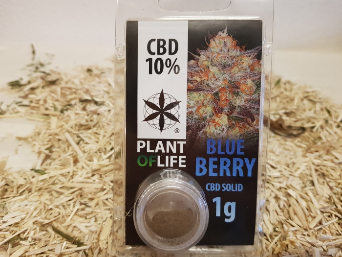 CBD 10 % Planet of Life Blue Berry 1g