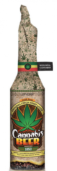EUPHORIA CANNABIS BEER WRAP 0,33l