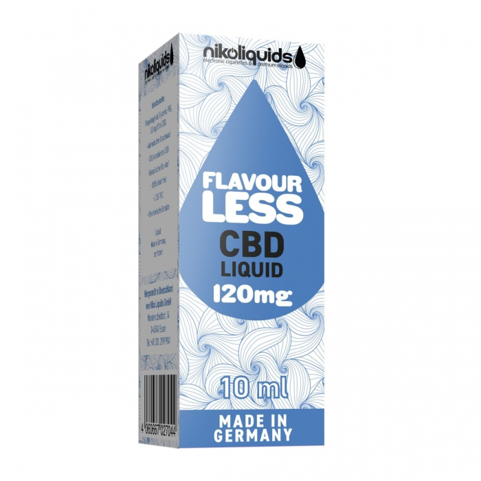 Nikoliquids CBD E-Liquid Flavourless 10ml