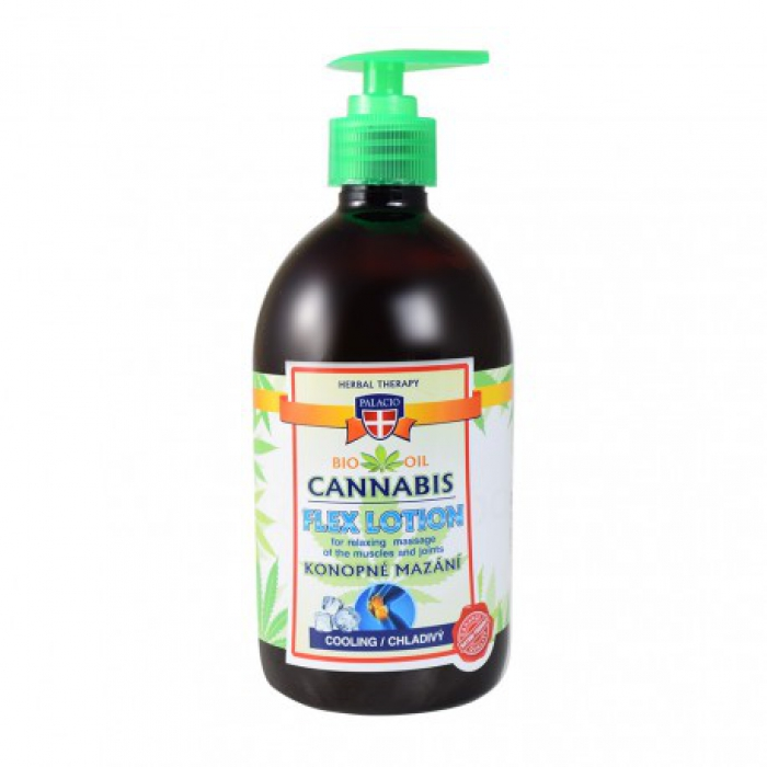 Cannabis Lotion Flex kalt 500ml